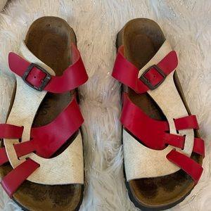 Birkenstock Betula Slip On Side Weave Sandals